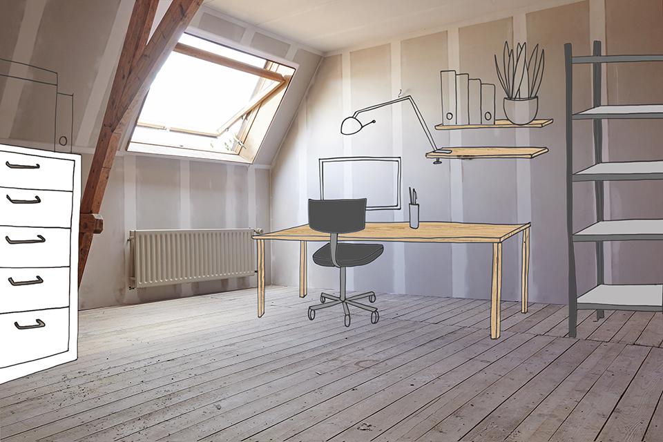 Badkamer Verbouwen Gamma : Zolder verbouwen keer inspiratie zo benut je deze ruimte