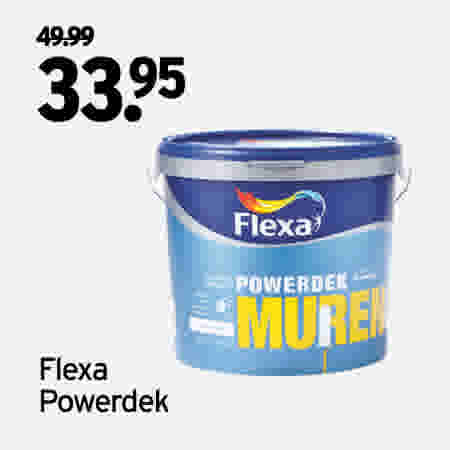 Flexa Powerdek 10 liter 49.99//33.95