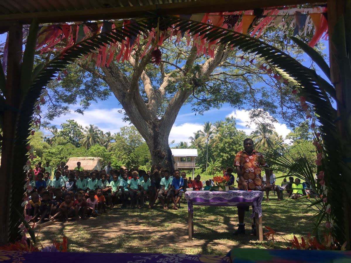Aruvatu School | Photo: World Vision