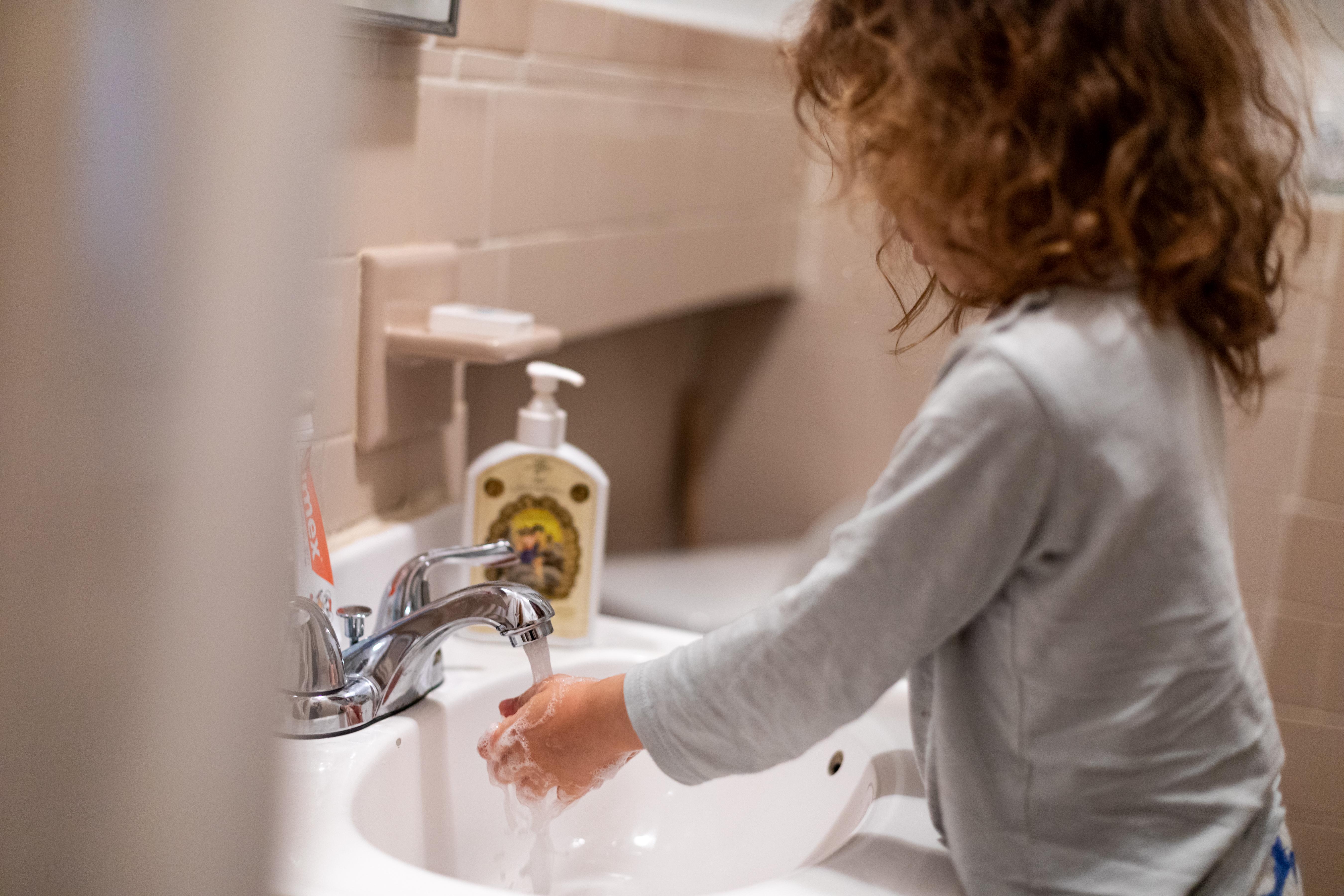 Hand washing USA