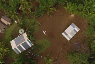The world's first vaccine delivery by drone to children in remote Vanuatu