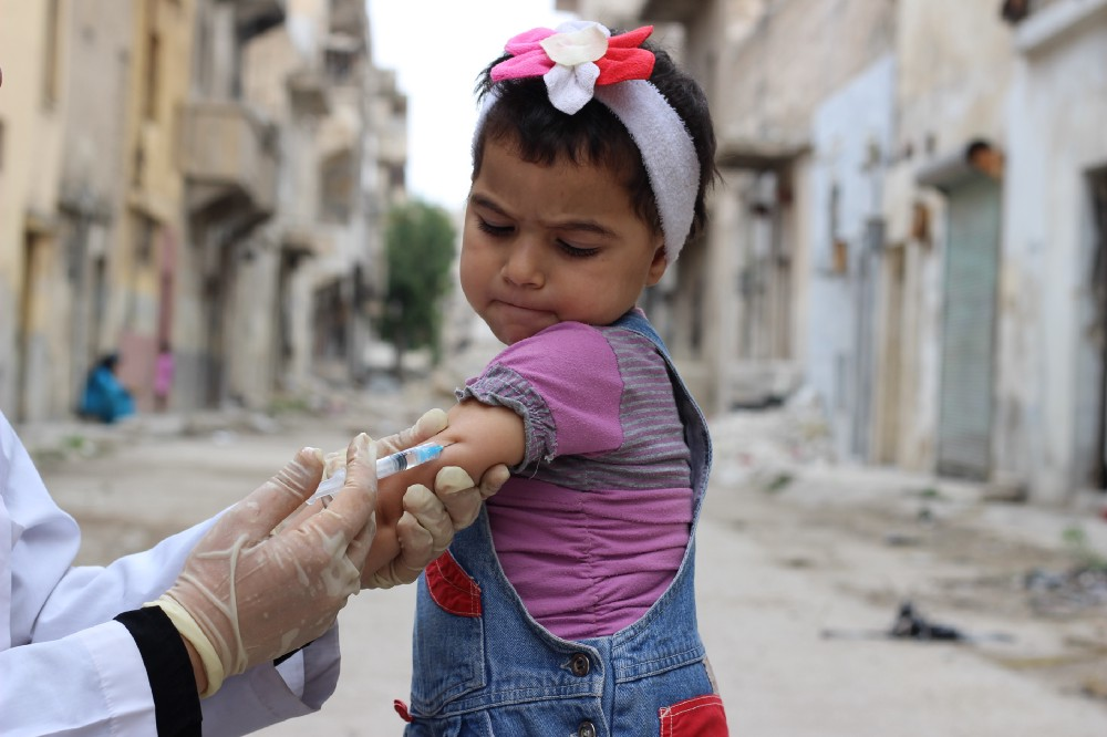 Children from poorer countries are more likely to miss out on lifesaving vaccinations