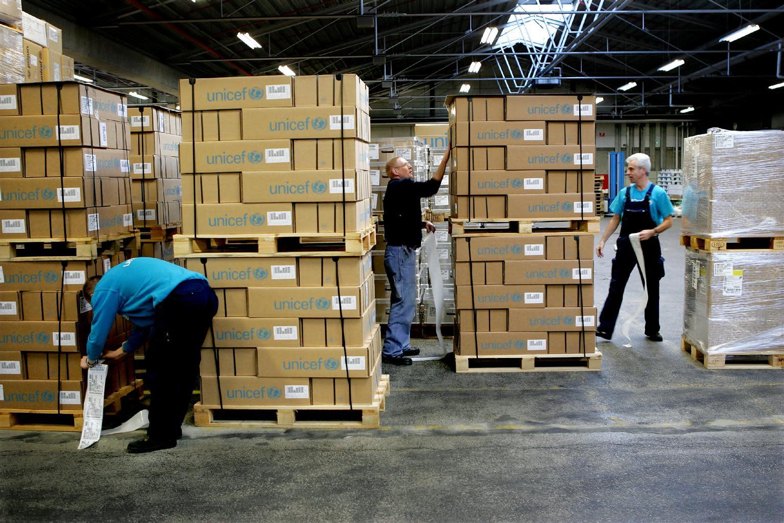 Unicef Supply Warehouse | ©Unicef/UNI40881