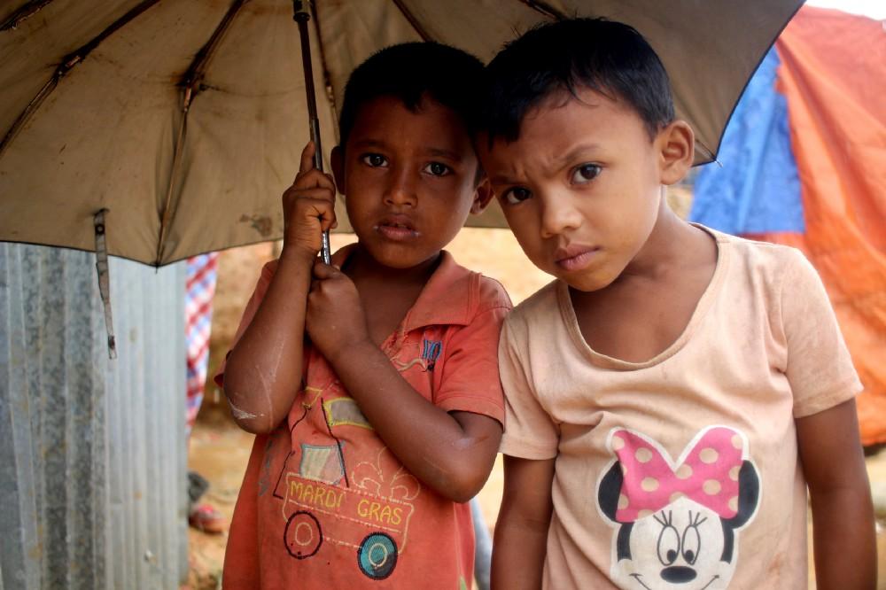 Halima's neighbours Mohammad and Rashid