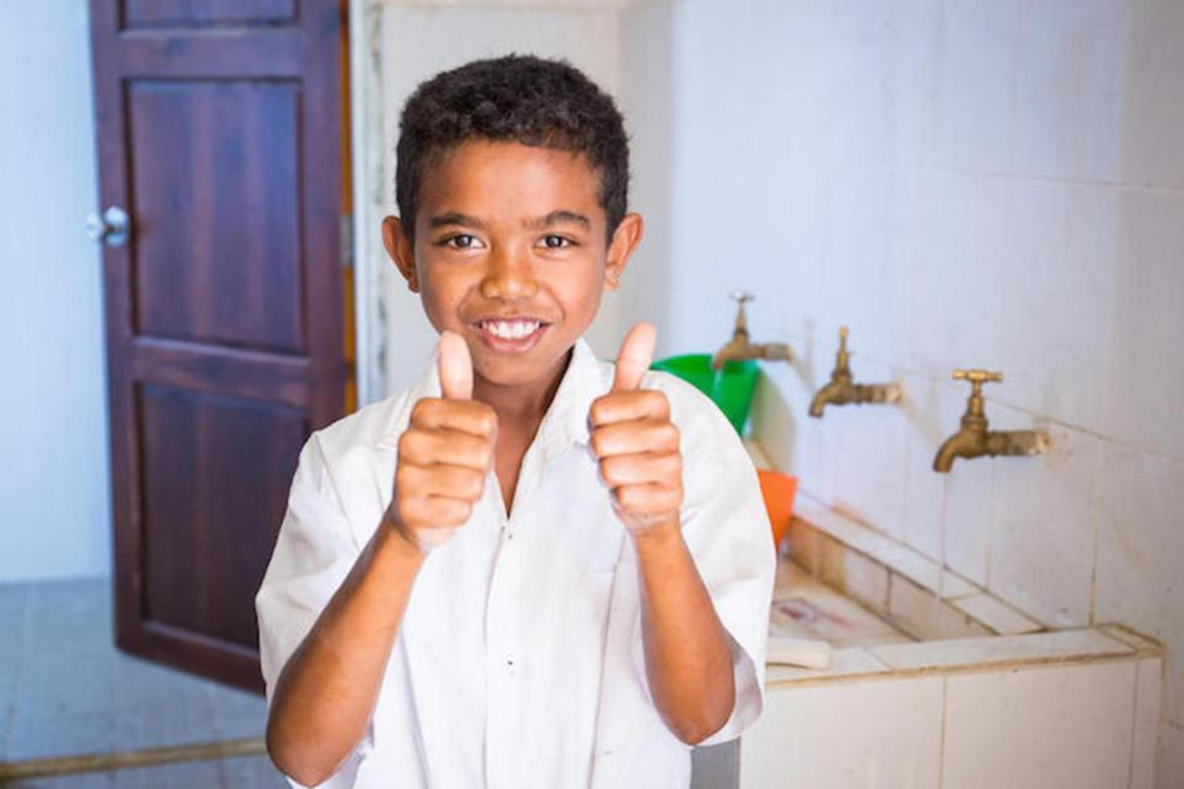 Timor-Leste hand washing