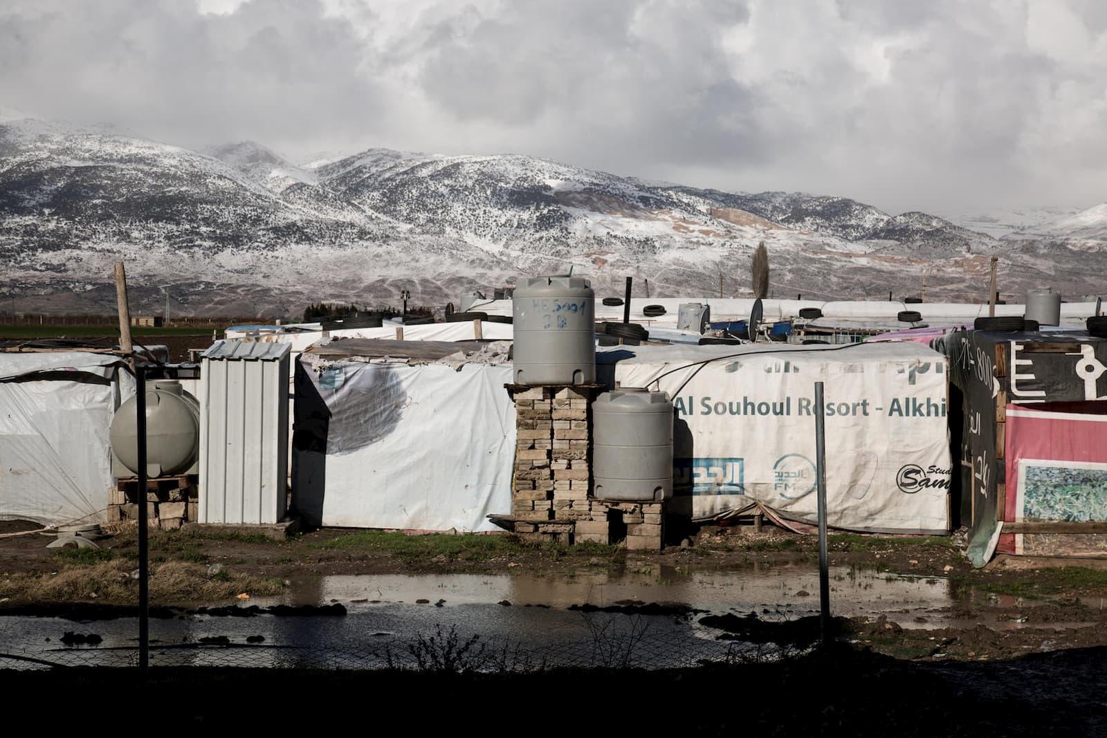 Syrian refugee settlements