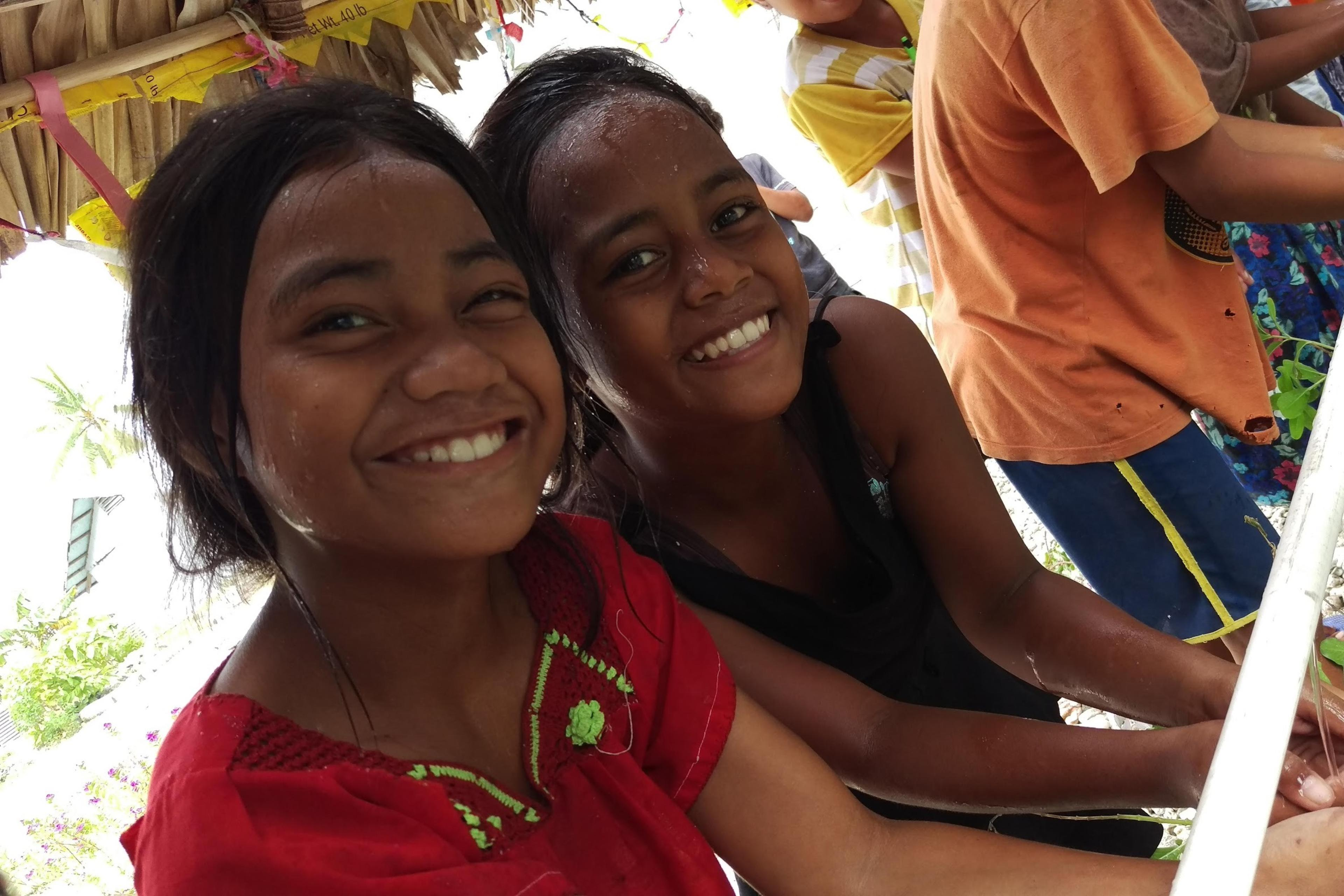 Handwashing, Kiribati
