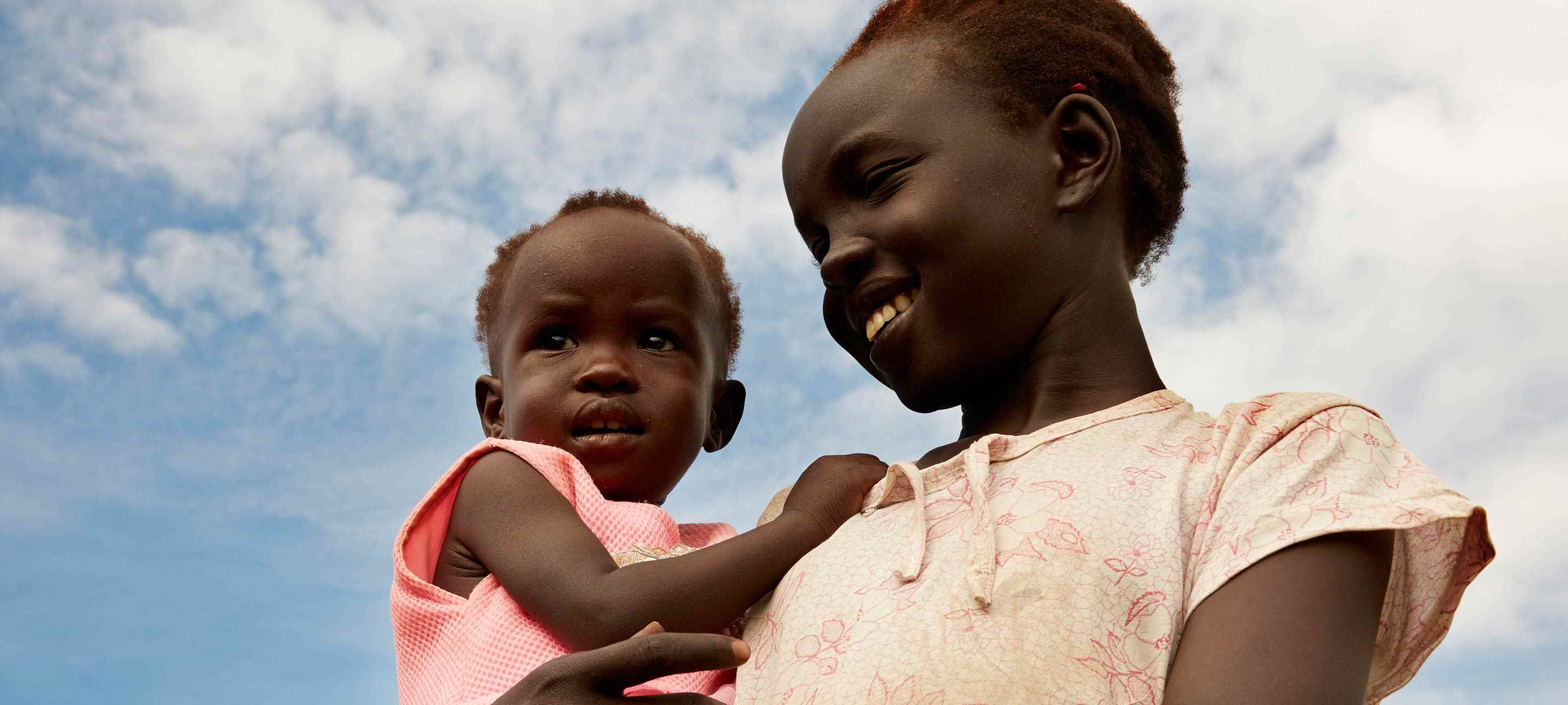 Adut and her big sister