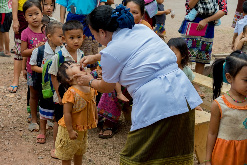 Vaccinations prevent the deaths of up to three million children every year
