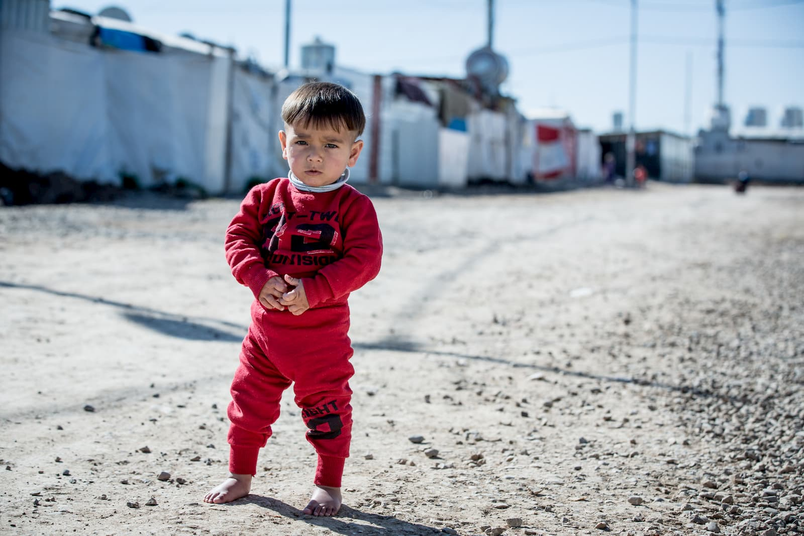 Yahya survives the winter thanks to UNICEF donors