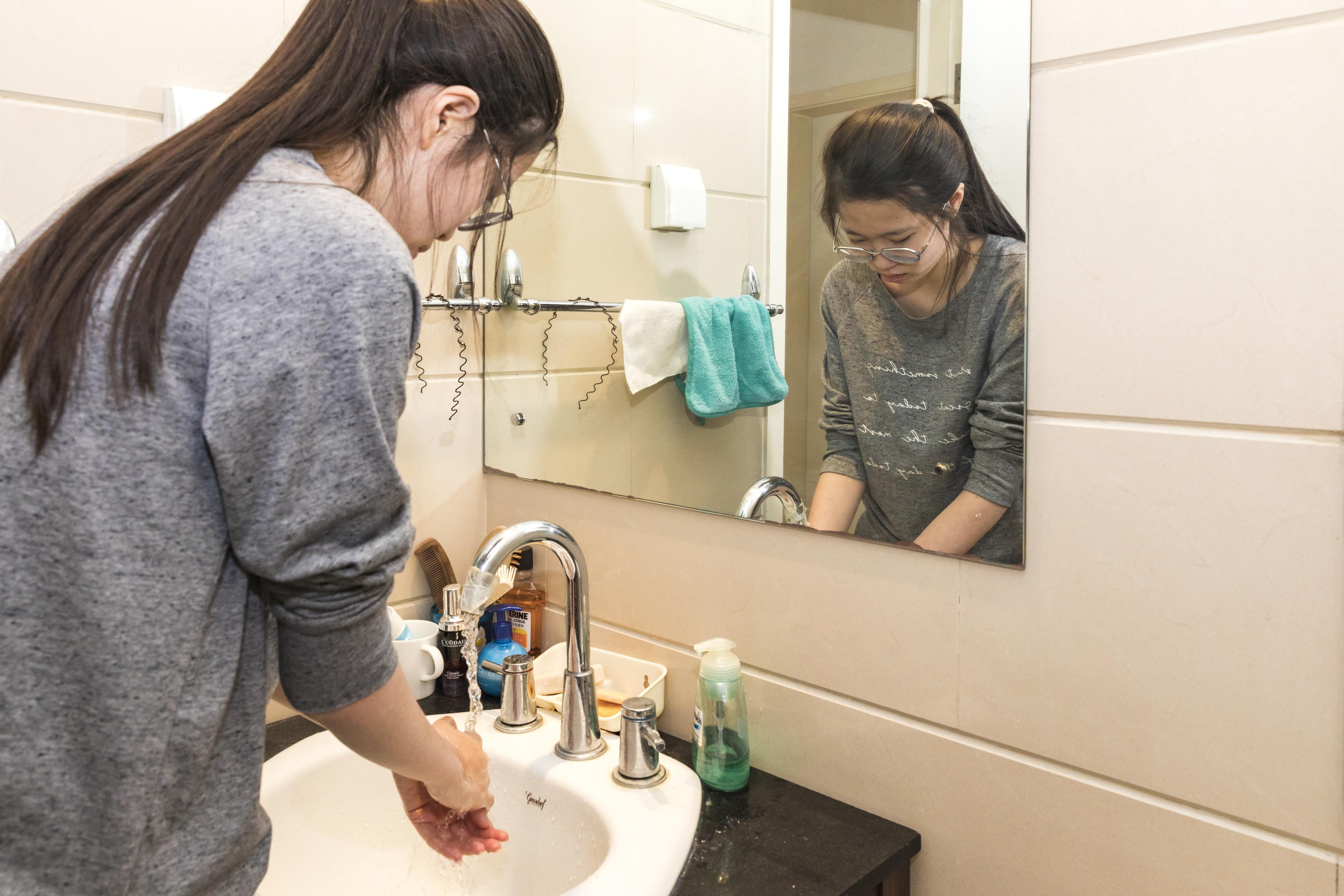 China handwashing