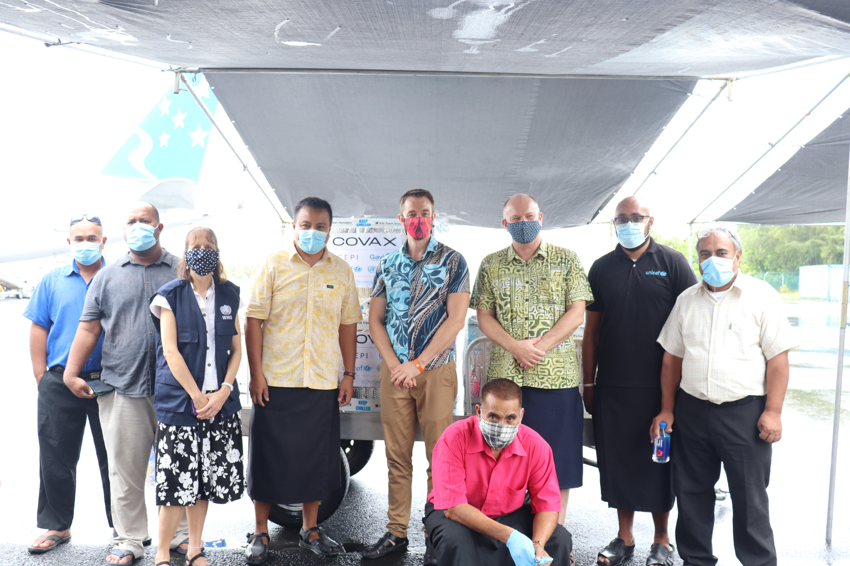 First batch of COVID-19 vaccines arrive in Kiribati