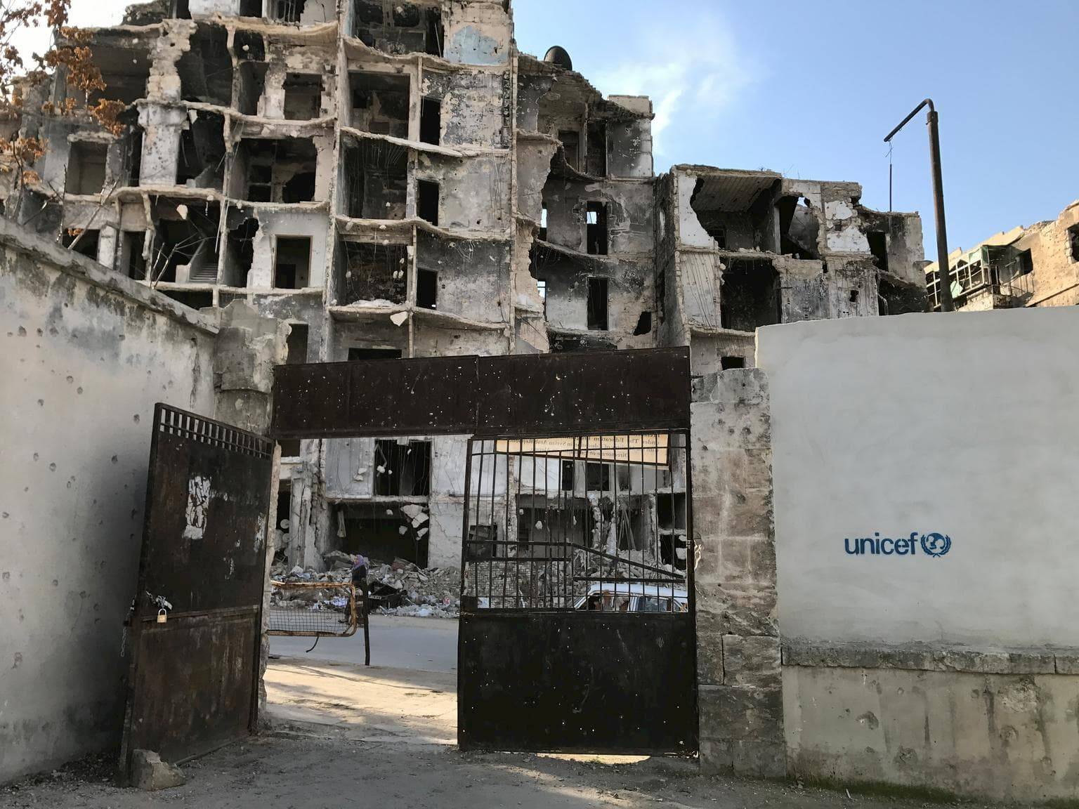 UNICEF's supports to Syrian refugee children aids
