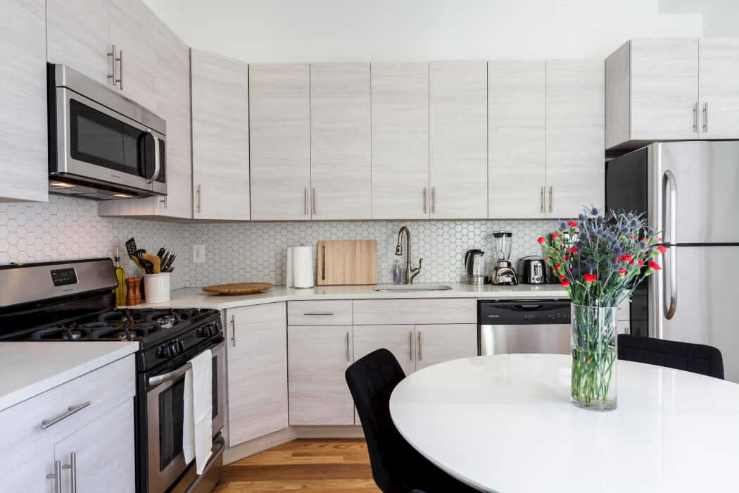 Common Herkimer kitchen Crown Heights coliving