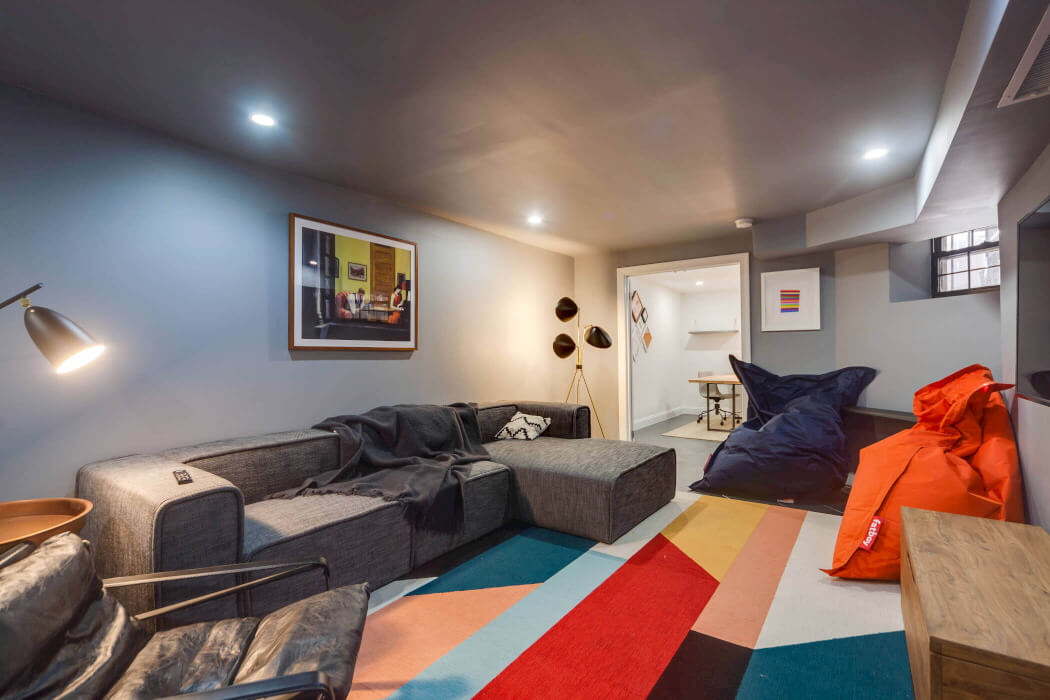 Common Herkimer lounge coliving