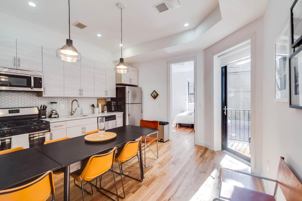 Common Herkimer kitchen Brooklyn coliving