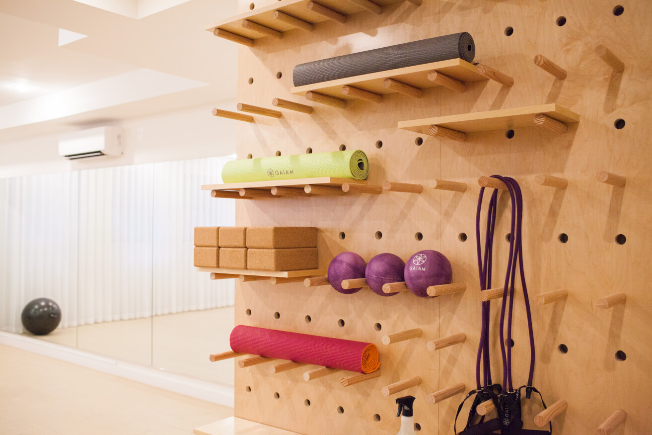 At Common Havemeyer in Williamsburg, Brooklyn, members can enjoy using their Wellness Studio stocked with all the equipment they need to get in shape.