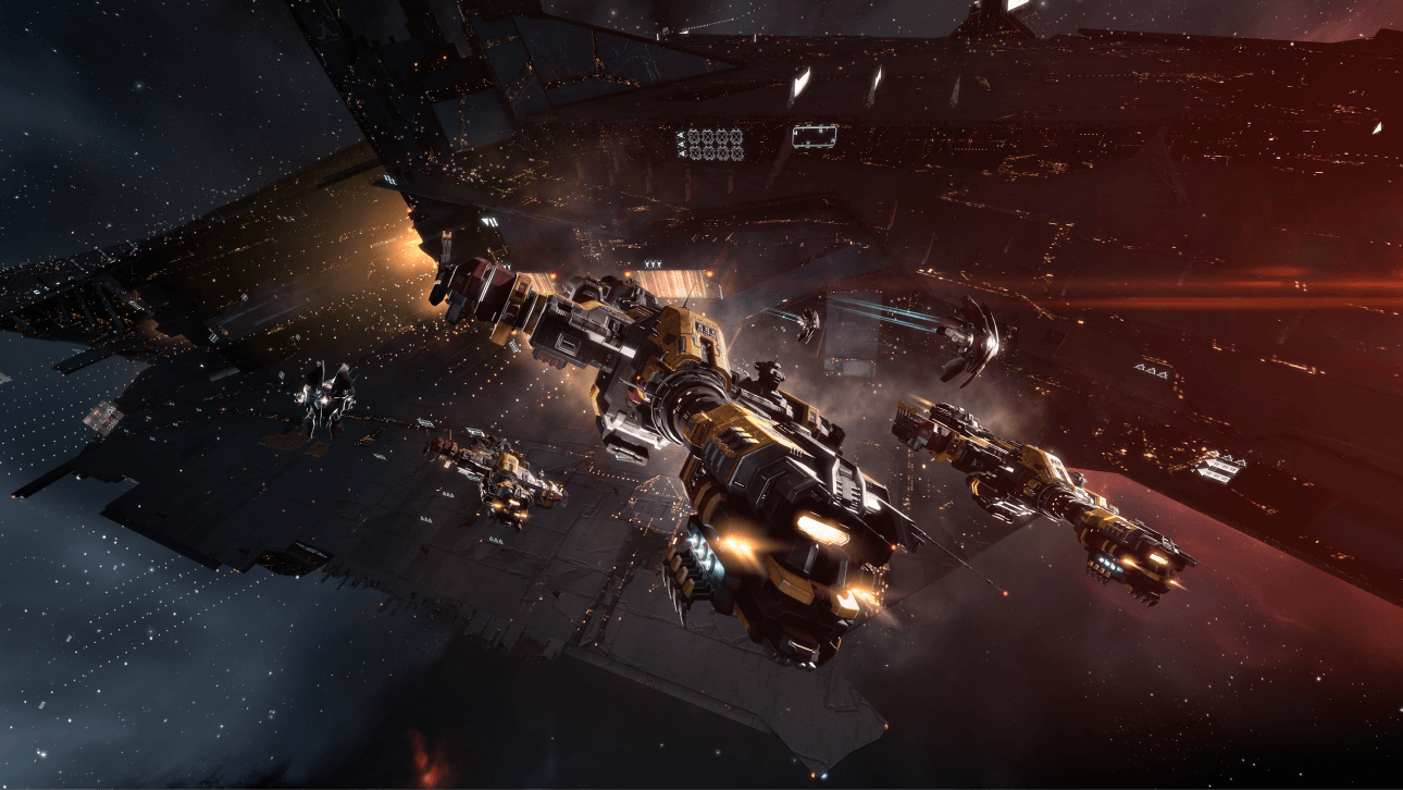 MMORPG - Join thousands of players in EVE Online. Spaceship and space station