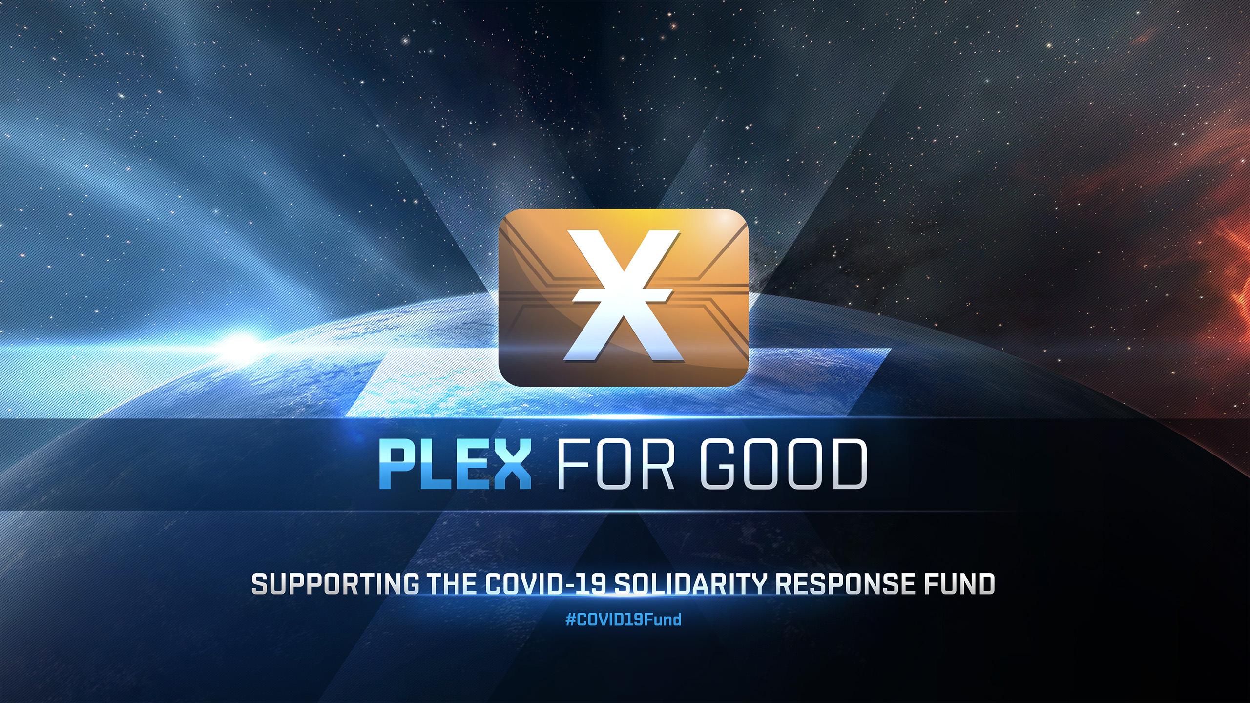 PLEX for GOOD Covid-19