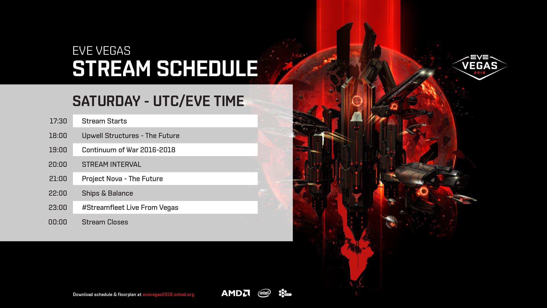Stream Schedule Saturday