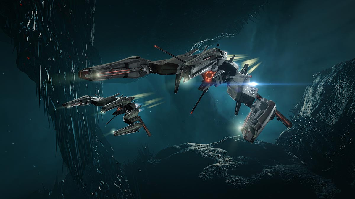Strategy Game - Sci-Fi - Alien spaceships attacking