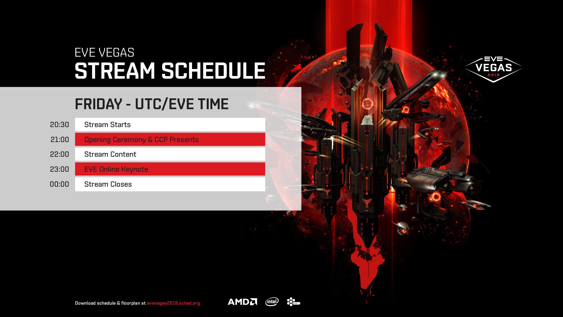 Stream Schedule Friday