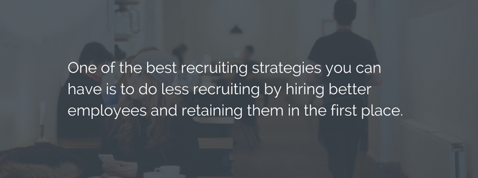 find employees and retain them