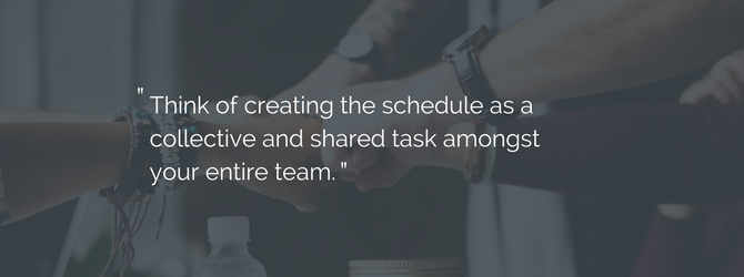 collective employee scheduling