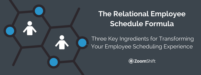 relational employee scheduling
