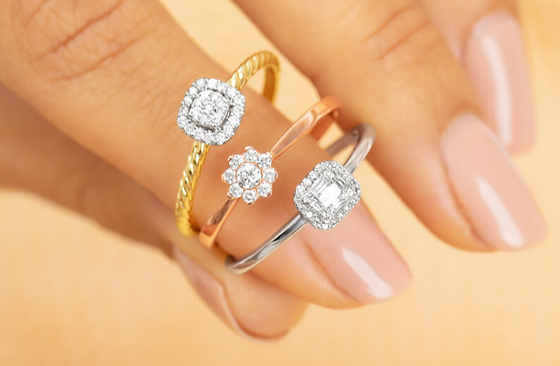 Promise rings at Michael Hill