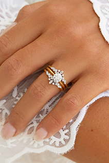 5 Looks to Create with Your Solitaire Ring