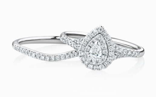Diamond and White Gold Bridal Set at Michael Hill