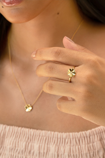 New Flower Ring, Earring & Pendant at Michael Hill