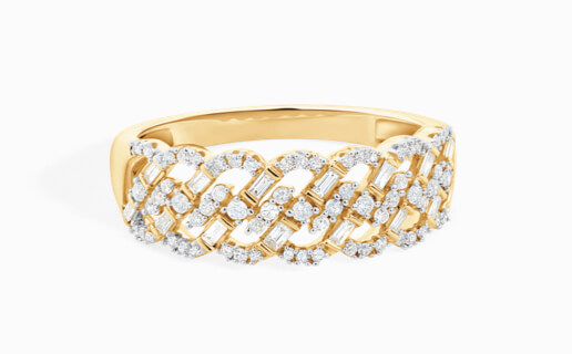 Diamond Ring in Yellow Gold at Michael Hill