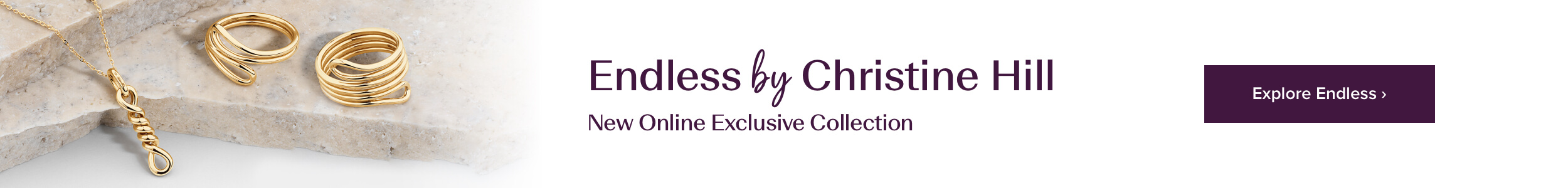 Endless - the new Collection by Christine Hill only available online at Michael Hill
