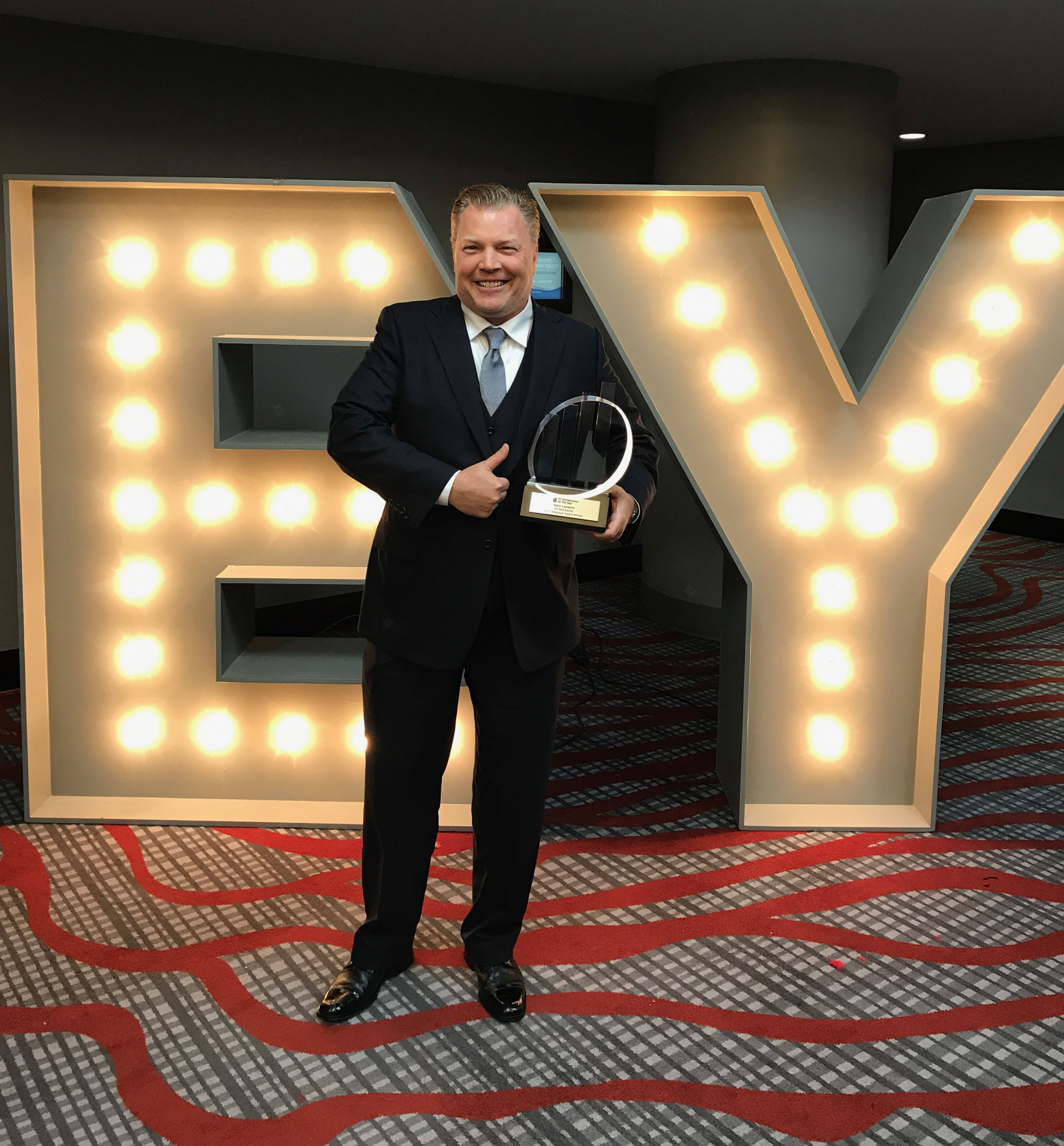 EY announces Mark Lanwehr, Founder of Car Keys Express, Winner of Entrepreneur Of The Year® 2017 Award