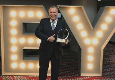 EY names Mark Lanwehr, Founder of Car Keys Express, Winner of Entrepreneur Of The Year® 2017 Award
