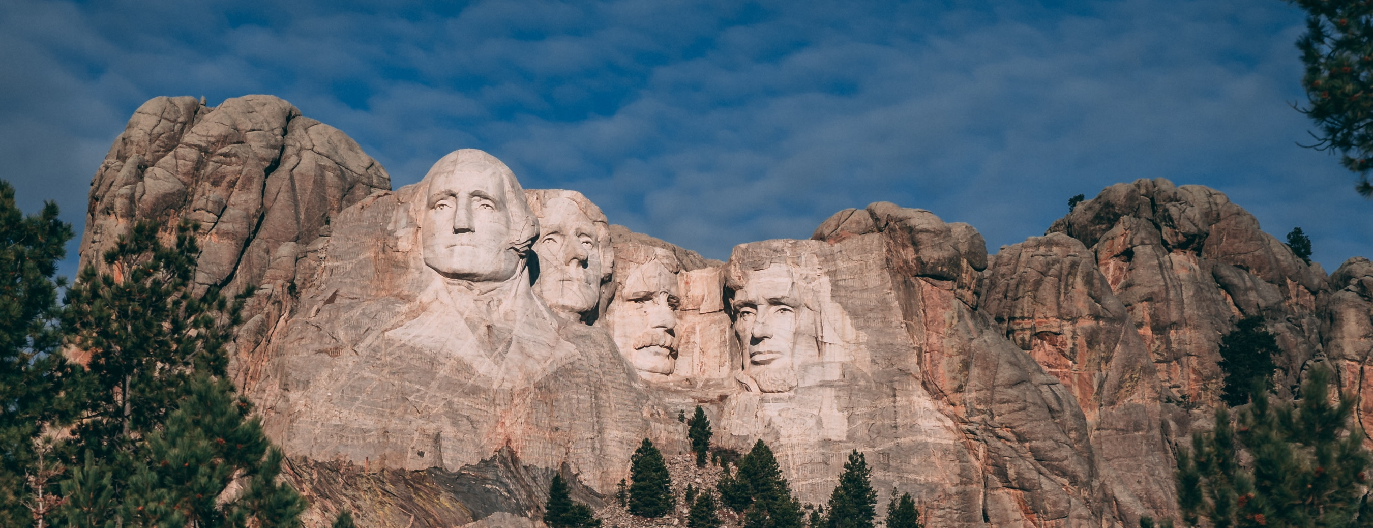 Mount Rushmore - Highlighting upcoming election