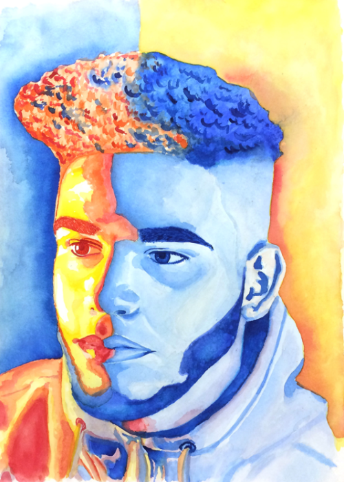 This incredible portrait, submitted by Jordan Myer inspires us!