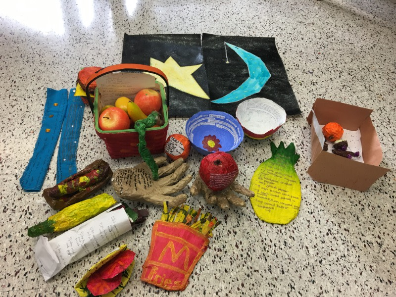 We have just reached 2% of our goal! The Walden International School in Ontario, Canada just submitted some amazing 3 dimensional recipe art.