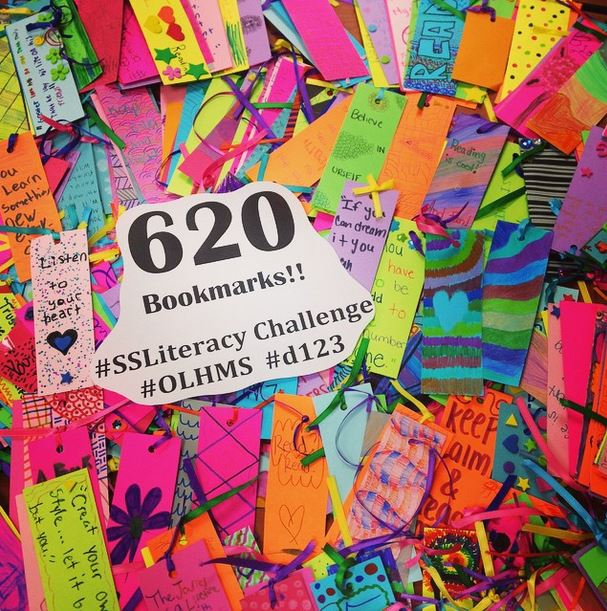 Impossible to lose your place with one of these fantastically bright bookmarks! We love them!
