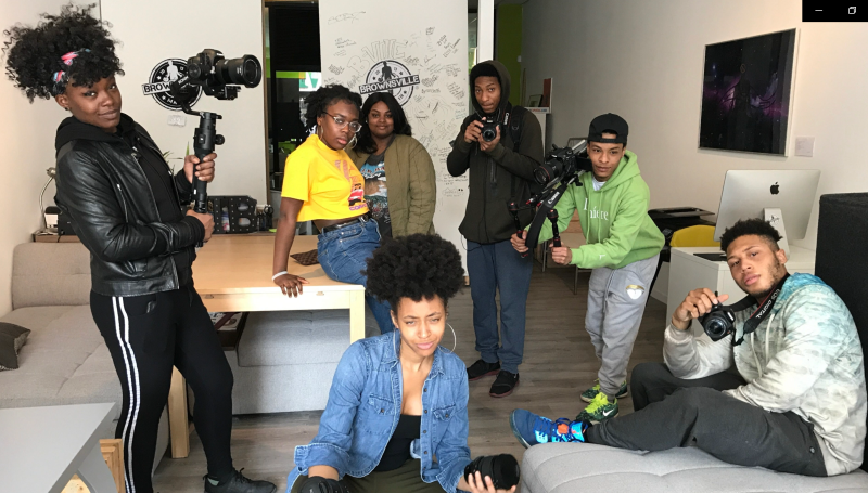 We are thrilled to partner with the Youth Design Center from Brooklyn, NY, to film and produce this year's Changemaker Challenge launch video!