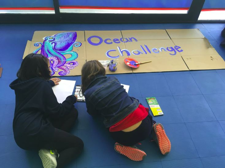 We're so excited to see Ocean Challenge art already coming in! Thank you Uruguayan American School!