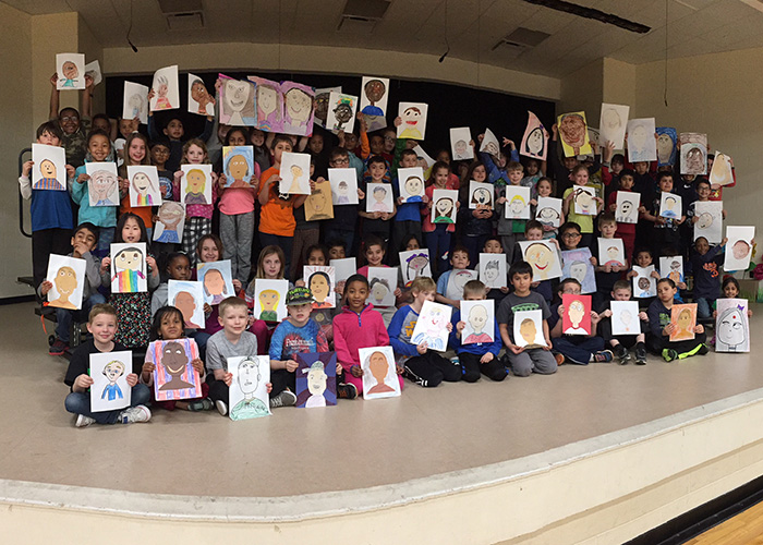 Thank you to the Orchard School 2nd Graders for sharing your self-portraits!