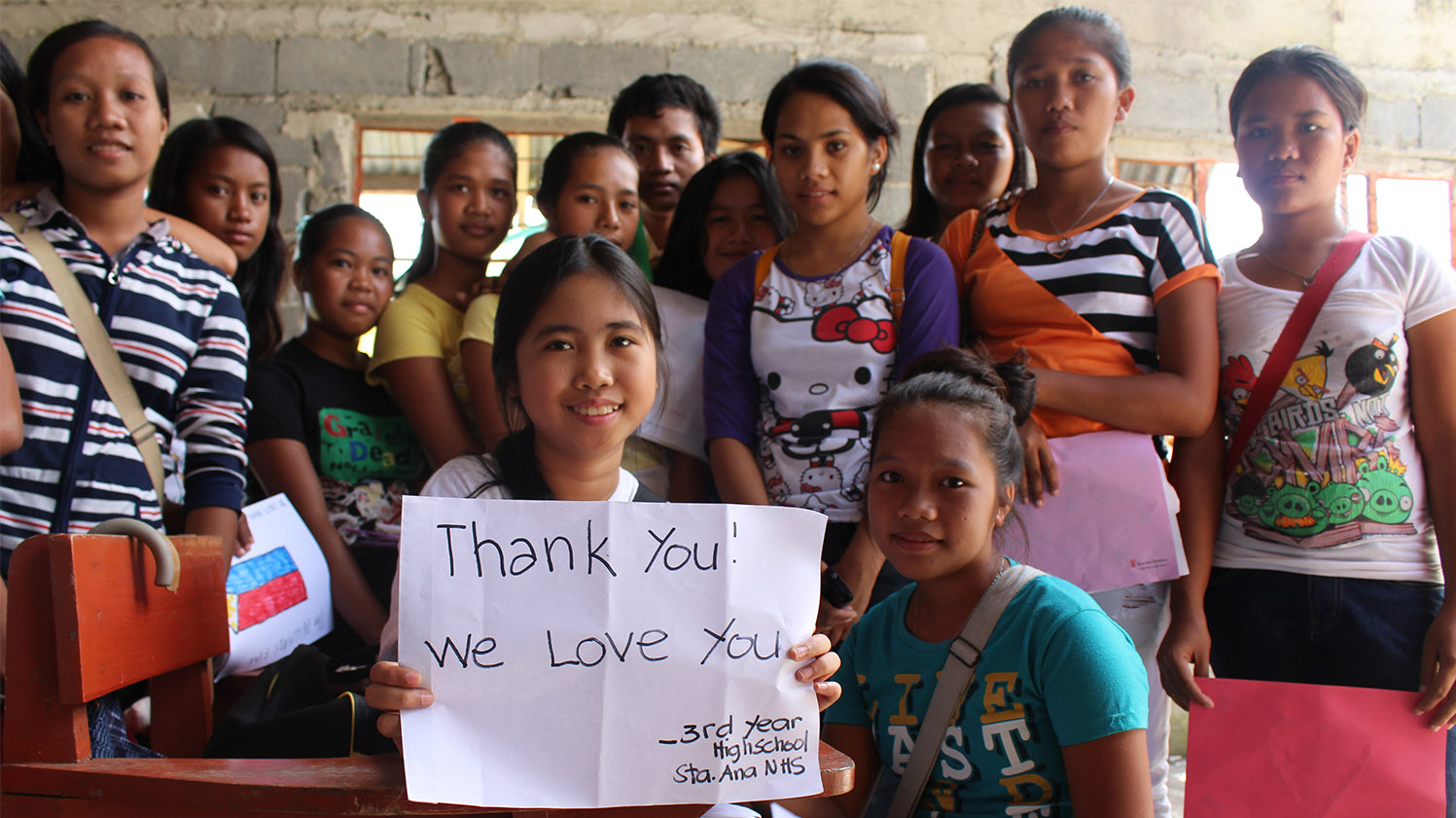 Typhoon Haiyan Recap & Letter Delivery