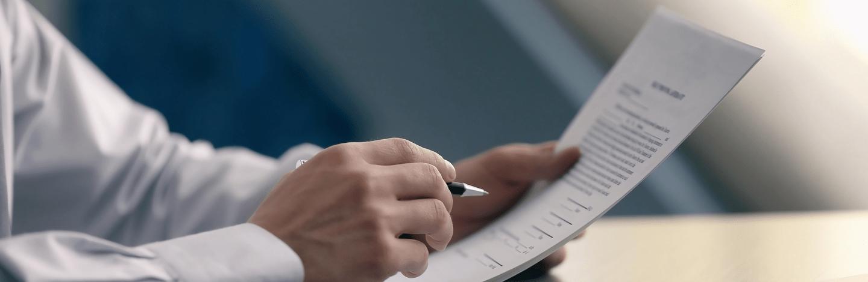 Business support senior CV template