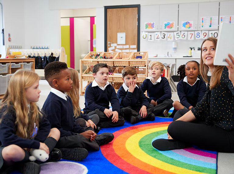 Primary teacher small