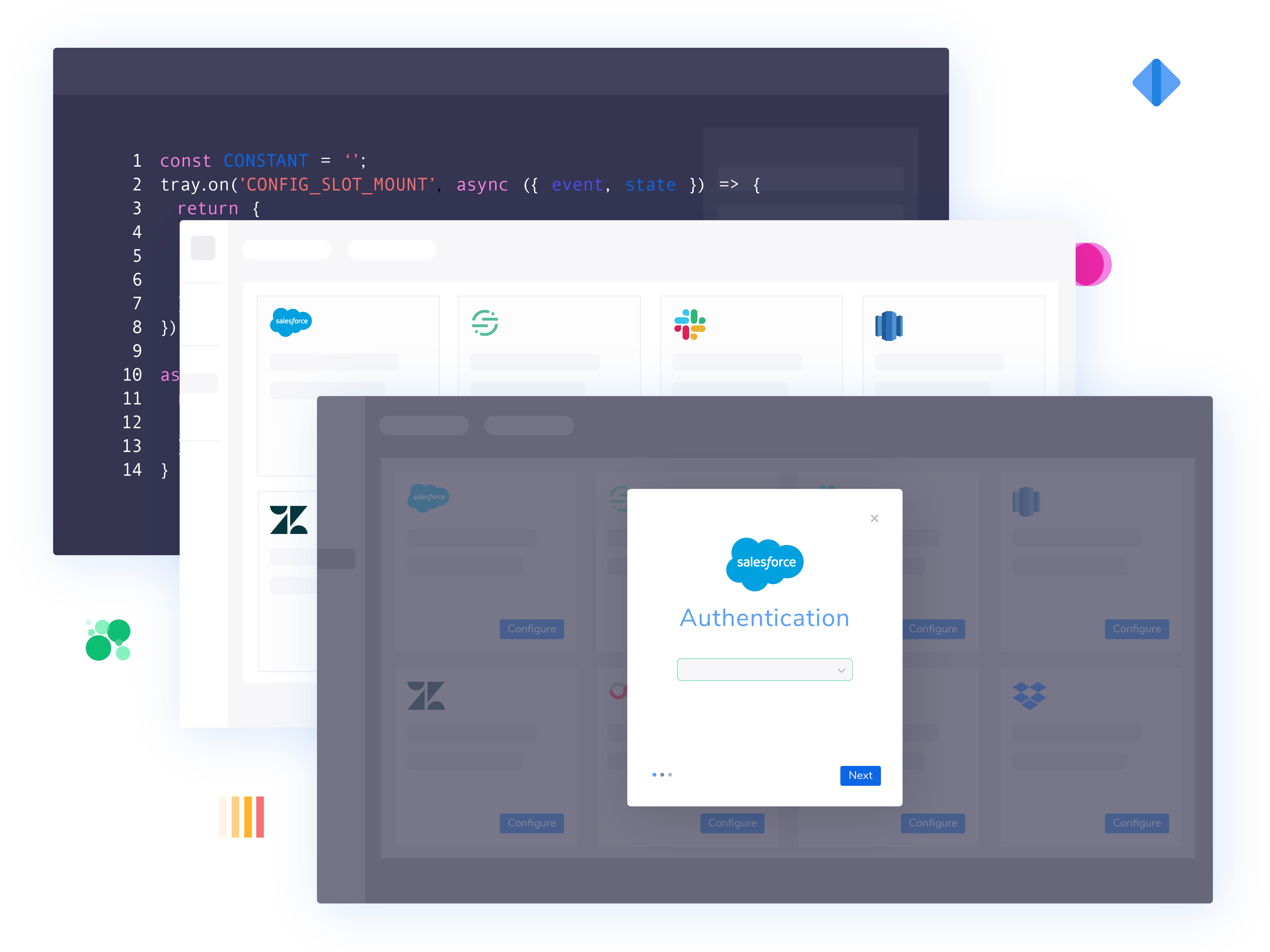 with tray embedded you can offer integrations to your customers without depleting developer resources