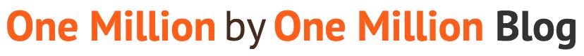 One million by one million logo