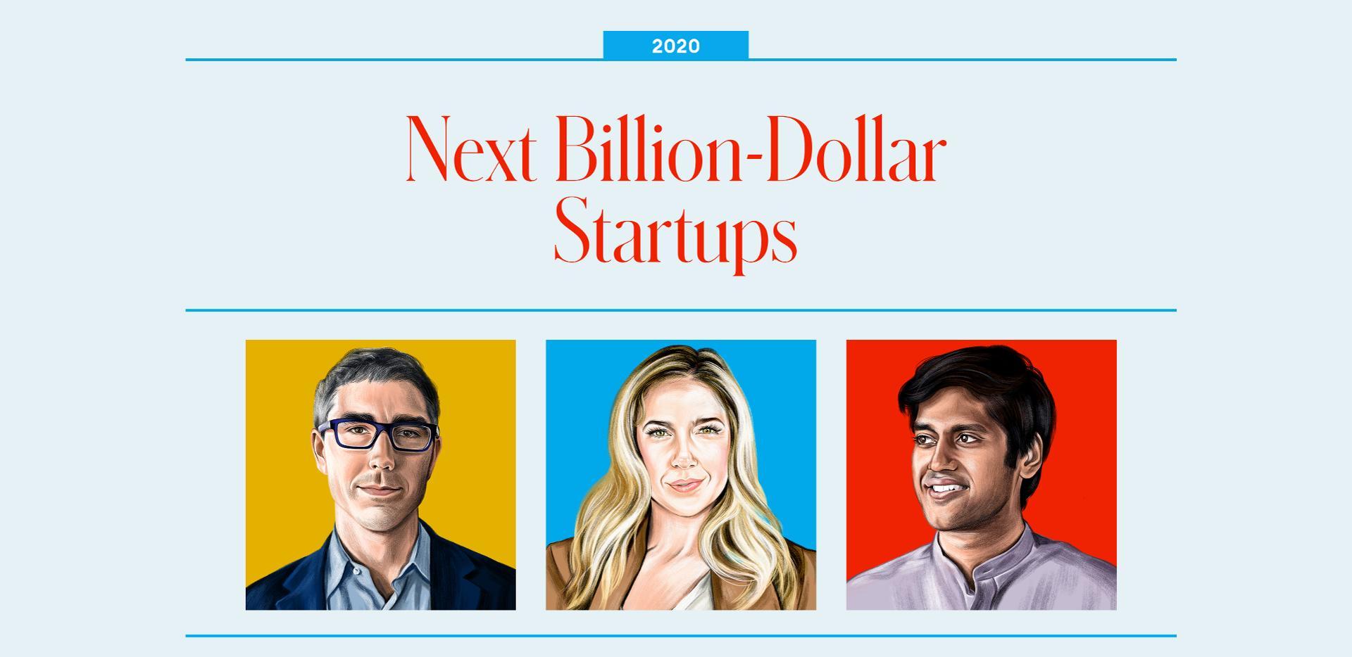 Forbes: Next billion-dollar startups